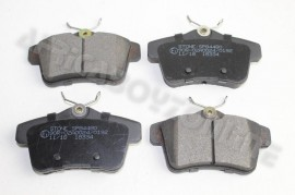 PEUGEOT BRAKE PADS 3008 2.0 REAR/104MM 2011